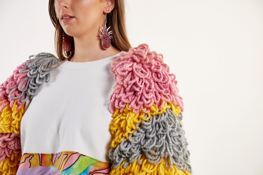 Textiles and Surface Design Alumni student showcasing at New Designers, One Year In Image