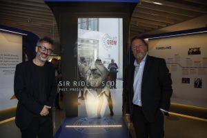 david-baddiel-and-pat-chapman-at-the-sir-ridley-scott-exhibition