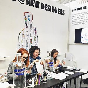 New Designers 2016 - Jo and finalists