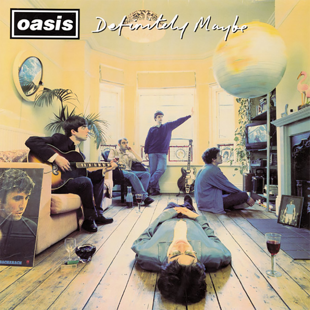 Oasis Definitely Maybe album cover