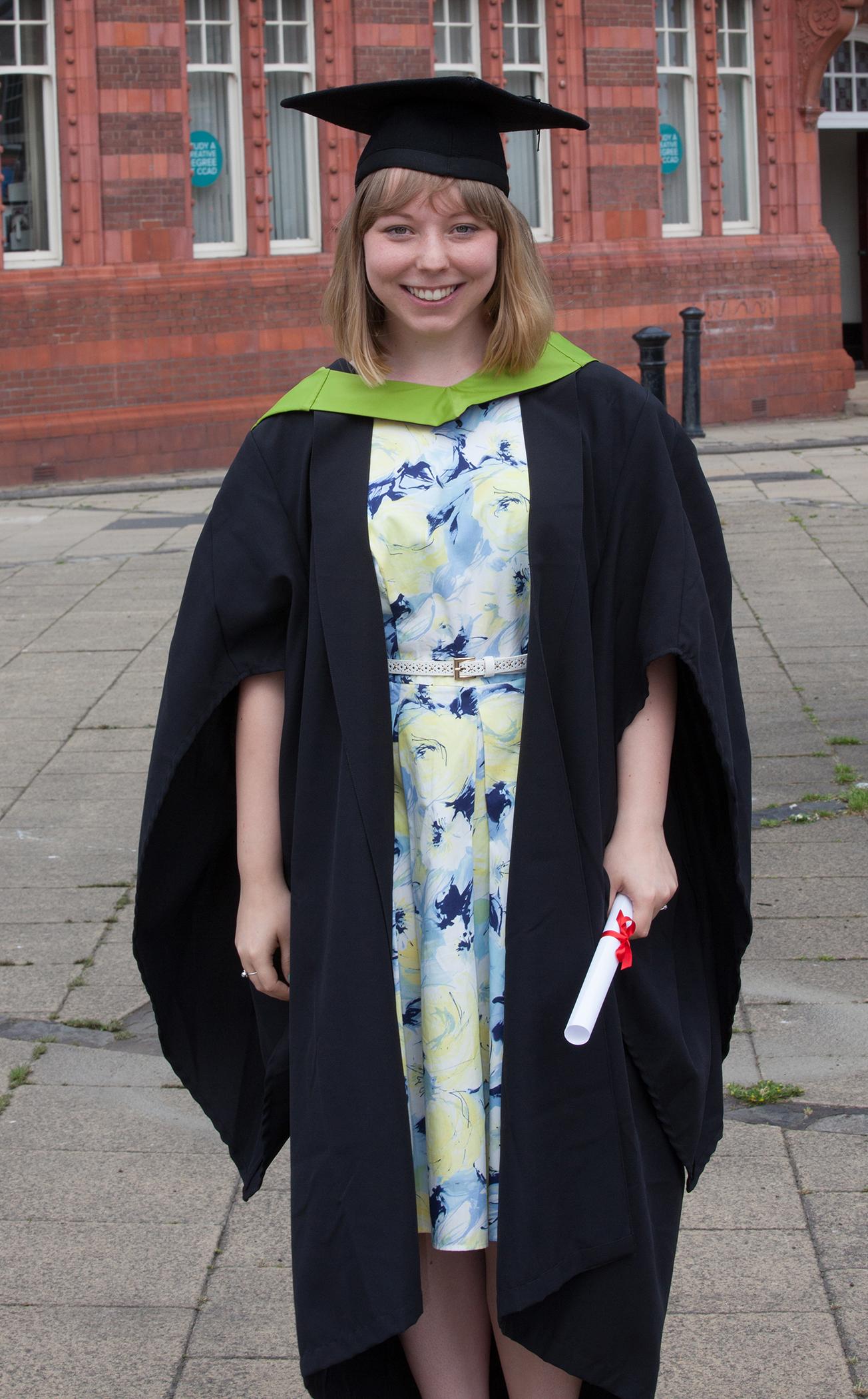 Rosie Hutchinson graduation