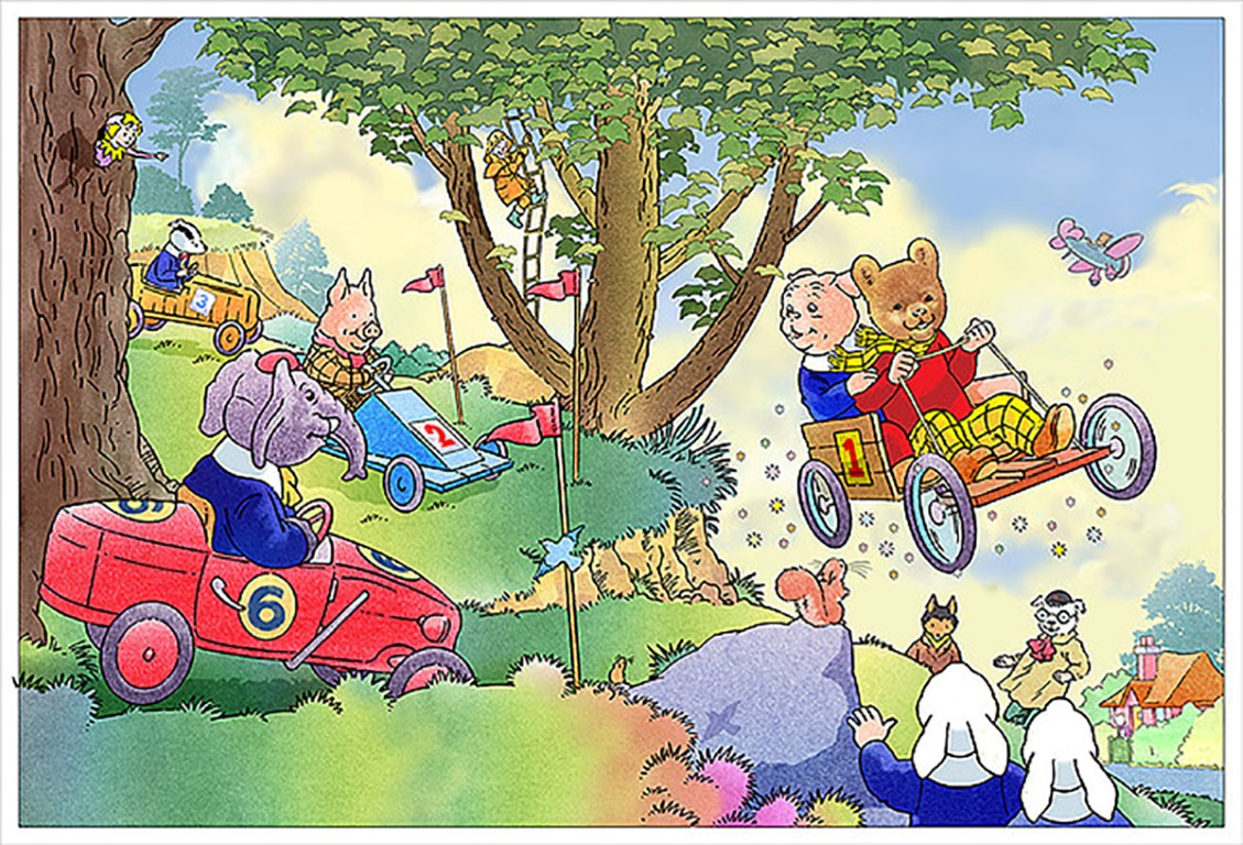 Stuart Trotter - Rupert Bear kart race (Medium)