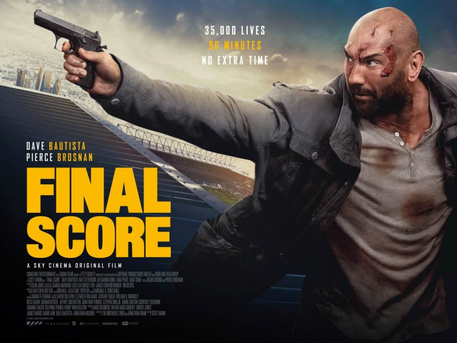 Pierce Brosnan Film, Final Score, Directed and Co-written by Alumni Students Image