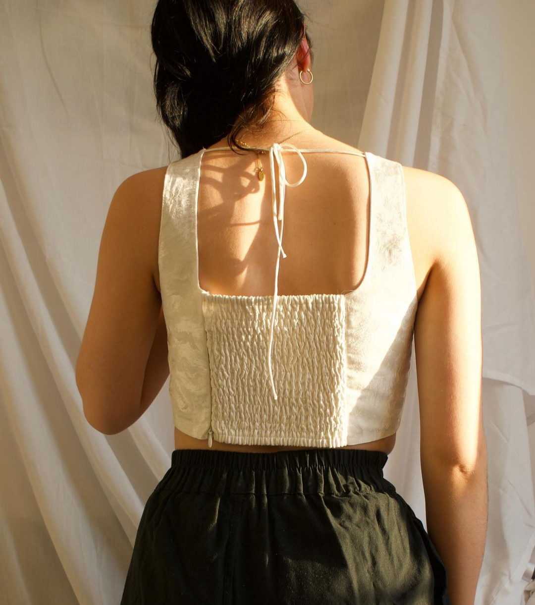 Back of the Anne top by Evie