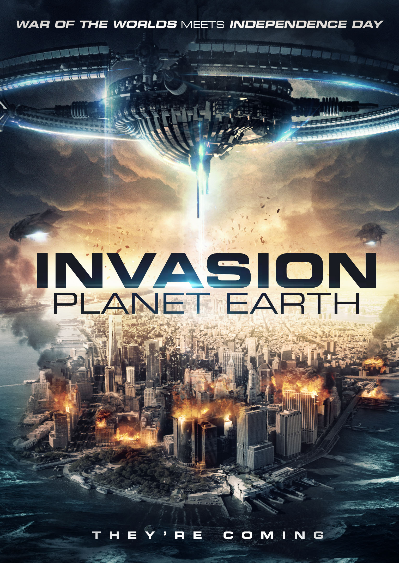 Poster for invasion Planet Earth film