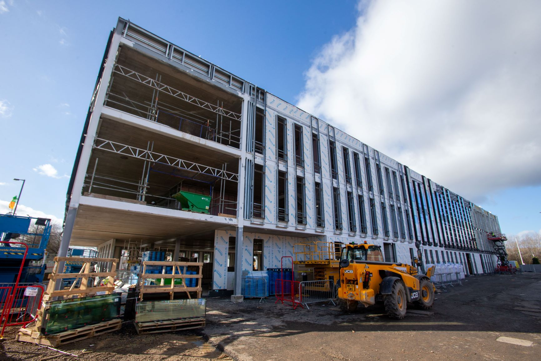 New campus building in Middlesbrough Feb 2021