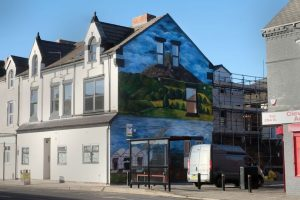 Mural by Charly Mupenga on Borough Road, Middlesbrough