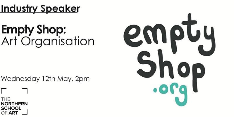 Empty shop creative careers talk