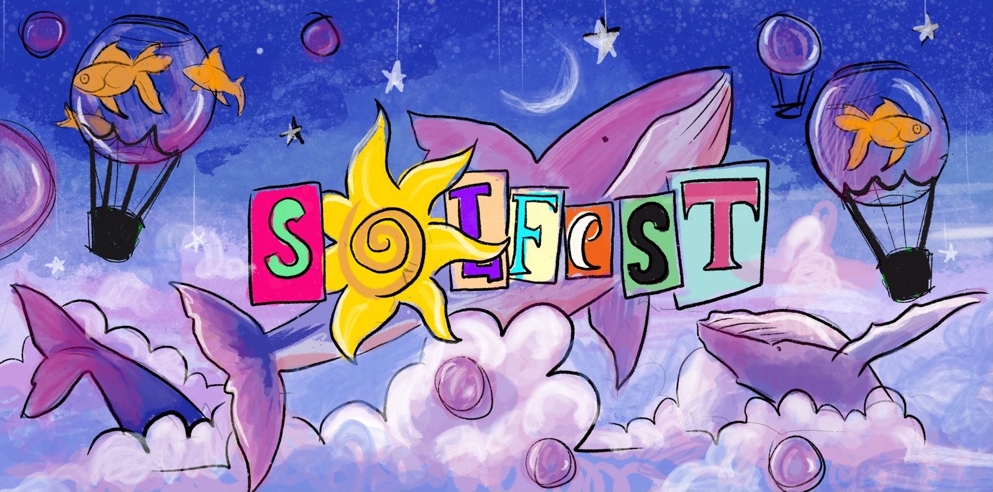 Illustration, solfest, arts, graduate, festival, collaboration, mural, painting, canada